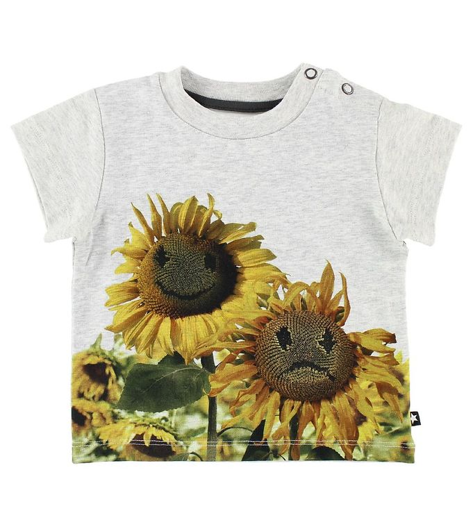 Image of Molo T-shirt - Emilio - Moody Flowers (JN048)
