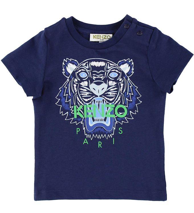 Kenzo T-shirt – Navy m. Tiger