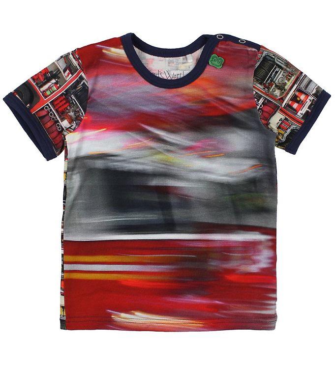 Image of Freds World T-shirt - Brandbil (JN713)