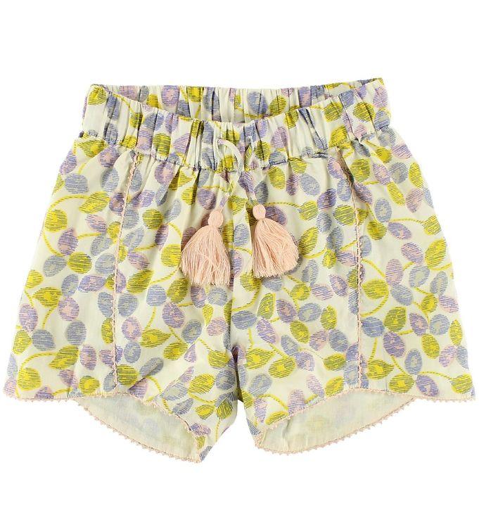 Image of Mini A Ture Shorts - Creme m. Print (JN871)