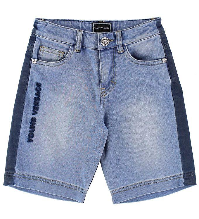 Image of Young Versace Shorts - Denim - Blå/Navy (JO006)