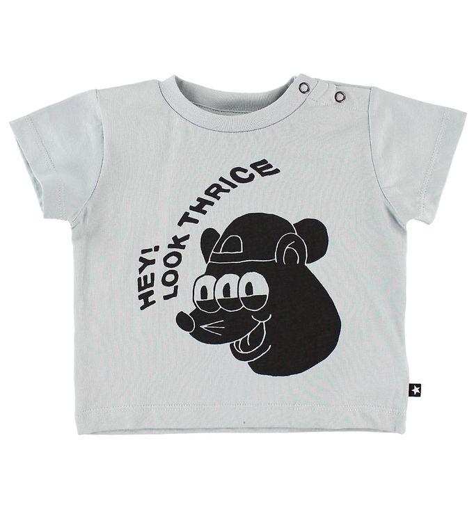 Image of   Molo T-shirt - Emilio - Pearled Blue