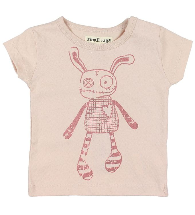 Image of Small Rags T-shirt - Grace - Rosa m. Mr. Rags (JP814)