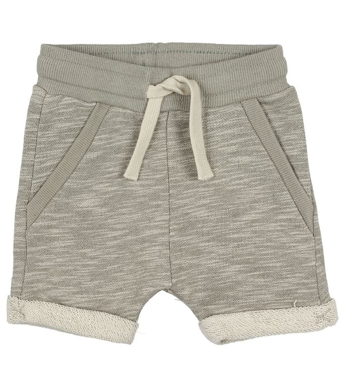 Image of En Fant Shorts - Gate - Gråmeleret (JP929)