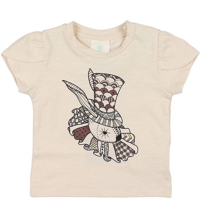 Image of En Fant T-shirt - Gate - Rosameleret m. Print (JP947)