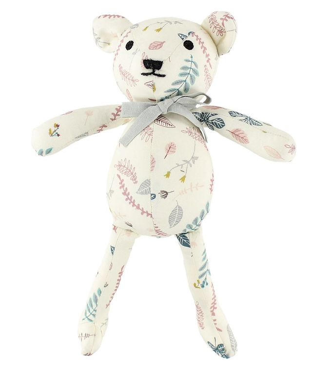 Image of Cam Cam Bamse - 28 cm - Pressed Leaves Rosa (JQ463)