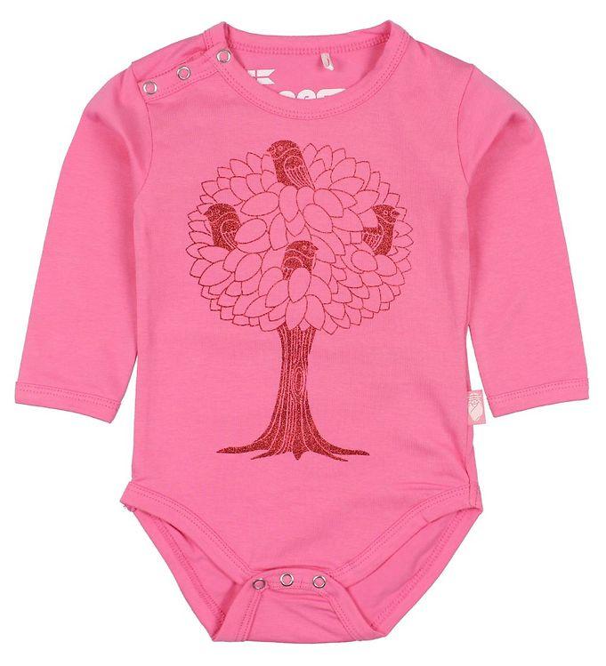 danefæ – Danefæ body l/æ - storm - pink m. birdtree på kids-world