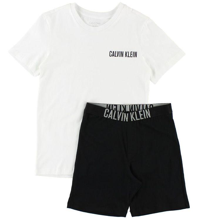 Image of Calvin Klein Nattøj - 2-delt - Hvid/Sort (JQ832)