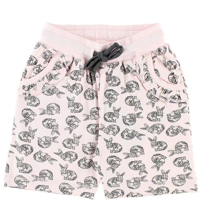 Image of BombiBitt Shorts - Rosa m. Kaniner (JQ890)