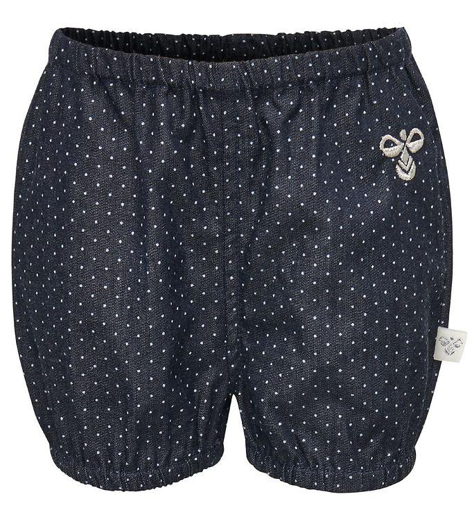 Hummel Shorts - Saga - Navy Denim M. Prikker