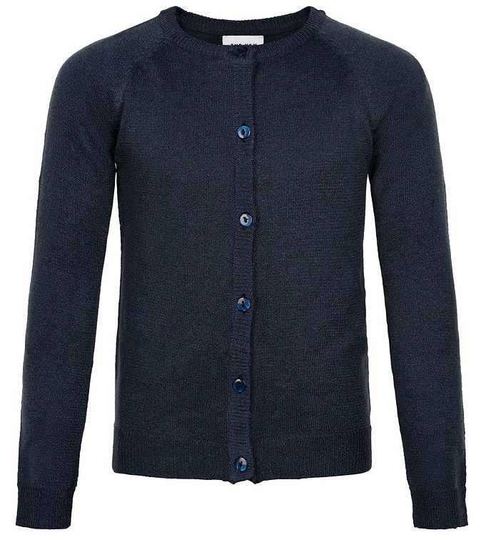 Image of The New Cardigan - Strik - Aya - Navy Glitter (JR296)