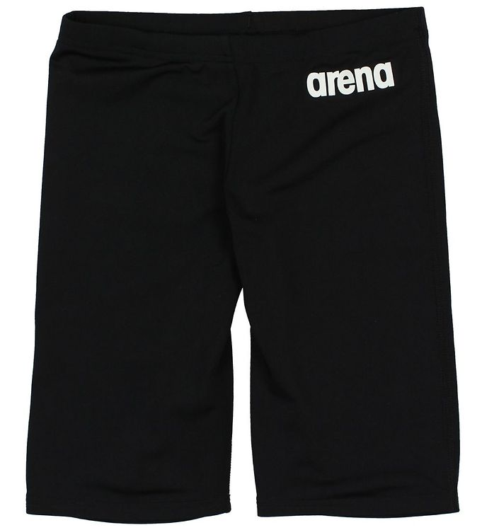 Image of Arena Badeshorts - Lang - Solid Jammer - Sort (JR544)