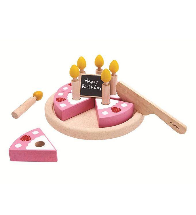63e5790c023 PlanToys Kage - Træ - Fødselsdag - Køb her med gratis fragt og ...