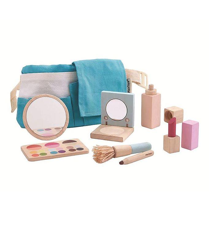 PlanToys Makeup Sæt - Træ - Natur - 13 - PlanToys,PlanToys Babylegetøj,PlanToys Trælegetøj - PlanToys
