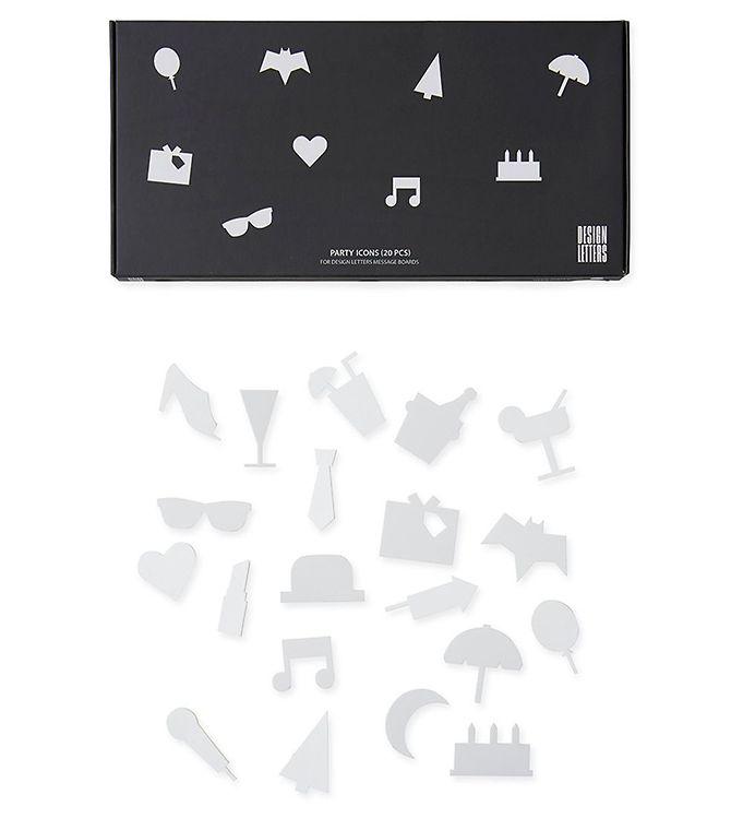 Design Letters Ikoner - Fest - Hvid - Køb her med gratis fragt og mulighed for gratis kredit.