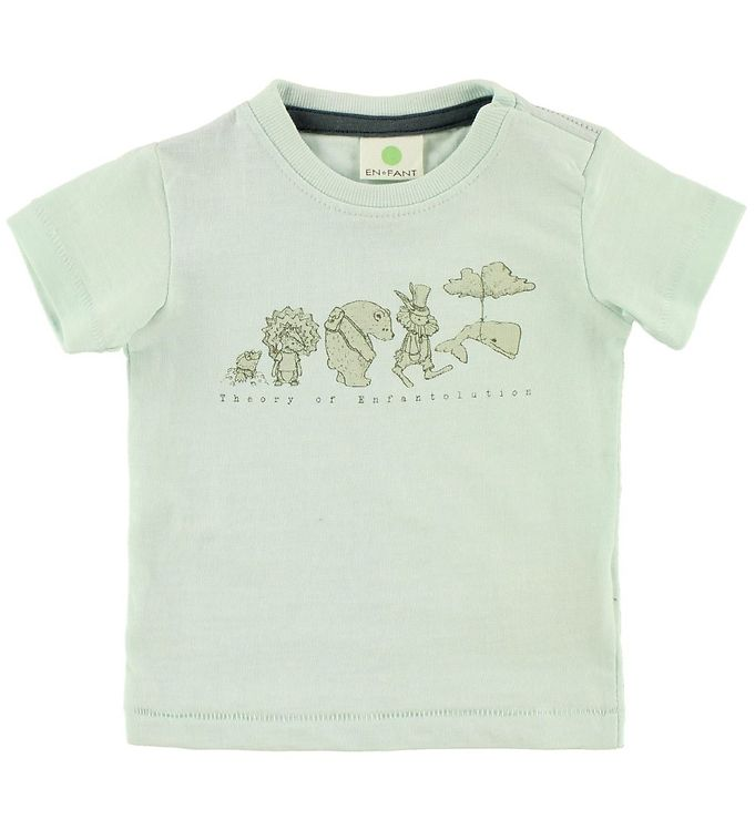 Image of En Fant T-shirt - Gate - Mint m. Dyr (JS371)