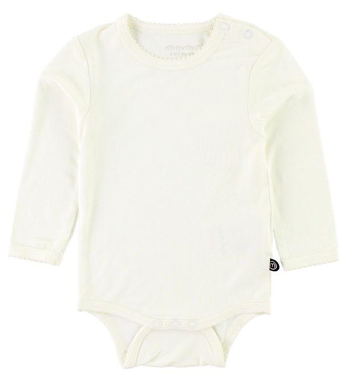 8e83079ab28 Minymo Body l/æ - Bambus - Hvid - Køb her med gratis fragt og ...