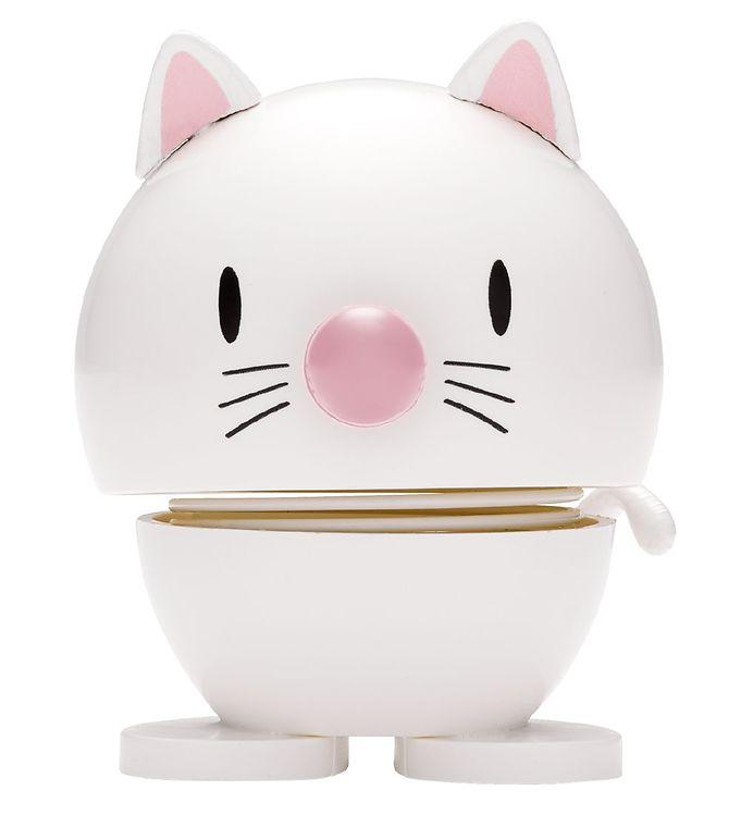 Image of Hoptimist Baby Cat - 7 cm - Hvid (JS908)