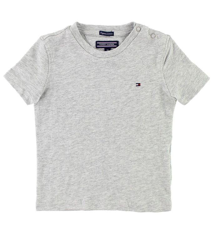 Image of Tommy Hilfiger T-shirt - Gråmeleret (JT071)