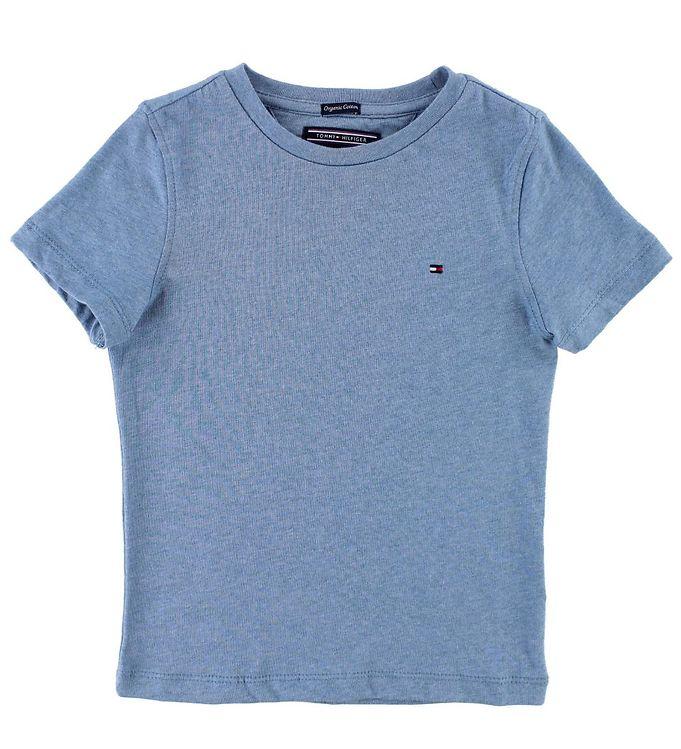 Image of Tommy Hilfiger T-shirt - Blåmeleret (JT078)