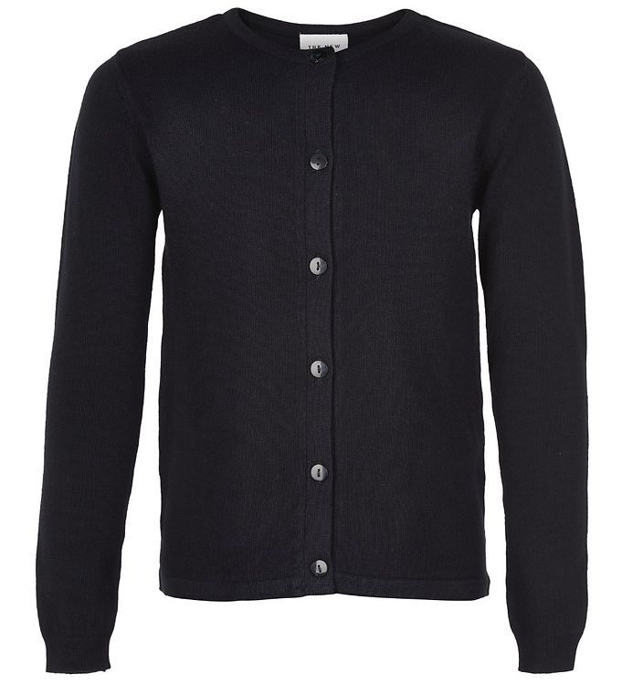 Image of The New Cardigan - Basic - Sort Strik (JT095)