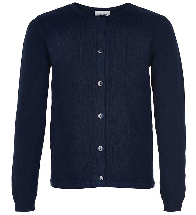 Image of The New Cardigan - Basic - Navy Strik (JT096)