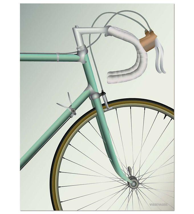 Image of Vissevasse Plakat - 30x40 - Racing Bicycle (JT657)