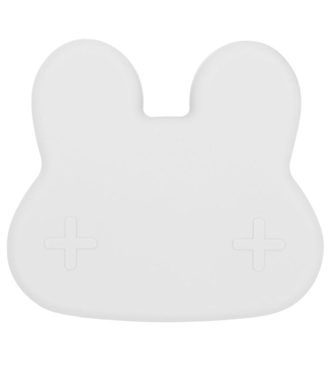 Image of We Might Be Tiny Snackboks - Kanin - Silikone - Lysegrå (JT701)
