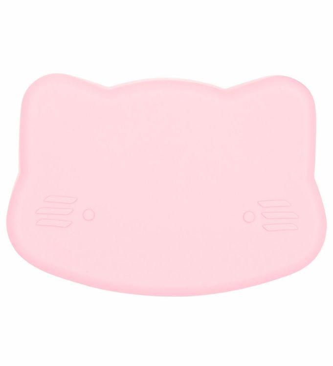 Image of We Might Be Tiny Snackboks - Kat - Silikone - Lyserød (JT730)
