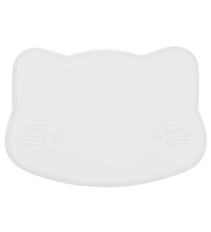 Image of We Might Be Tiny Snackboks - Kat - Silikone - Lysegrå (JT731)