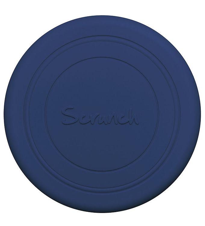 Scrunch Frisbee - Silikone - Mørkeblå