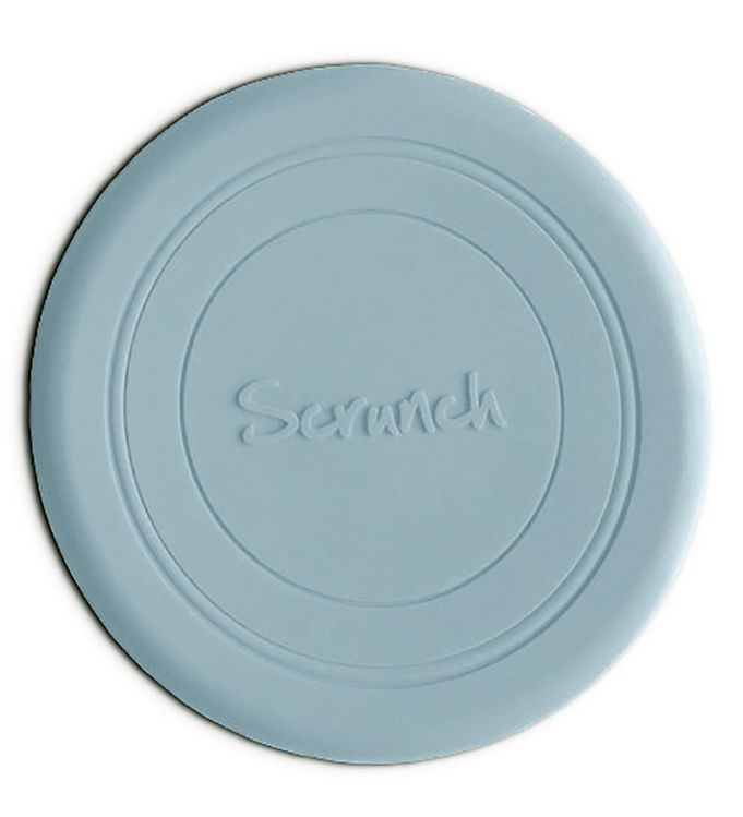 Scrunch Frisbee - Silikone - Lyseblå