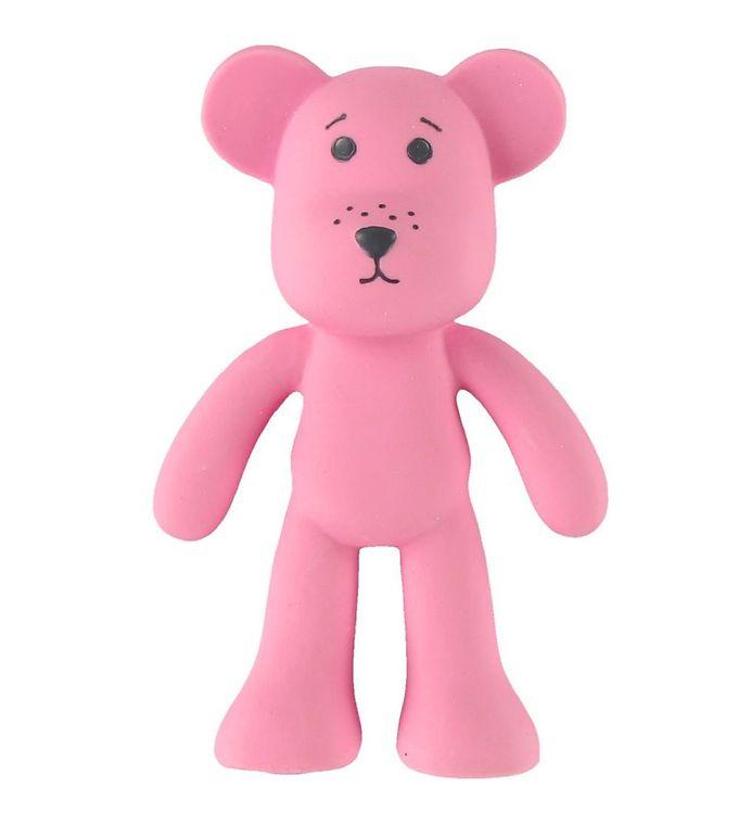 Oopsy bidebamse - naturgummi - pink fra oopsy fra kids-world