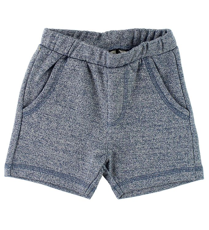 Image of Wheat Sweatshorts - Helmer - Blåmeleret (JU967)