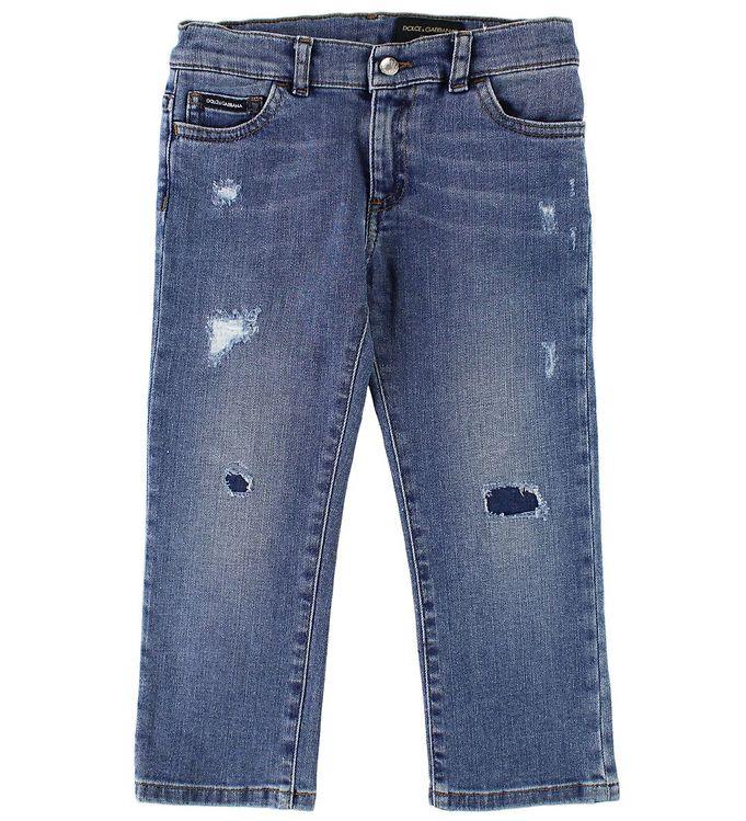 Image of Dolce & Gabbana Jeans - Blå Denim (JU989)