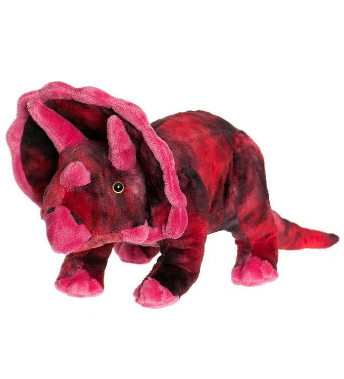 Image of Teddykompaniet Bamse - Dinos - 40x15 - Rød Triceratops (JV609)