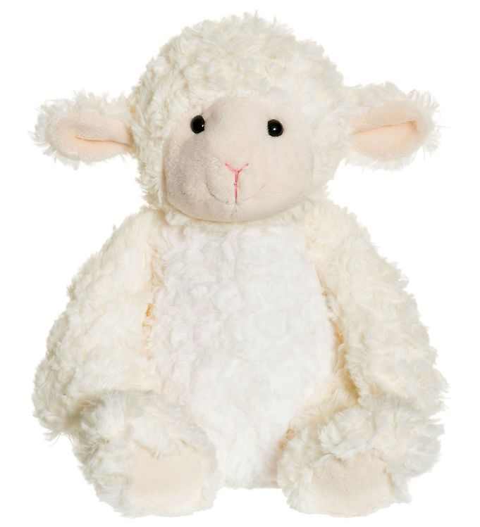 teddykompaniet – Teddykompaniet bamse - softies - 23 cm - lammet lilly på kids-world