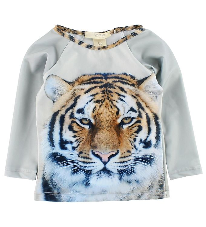 Image of   Popupshop Badebluse - UV50 - Tiger