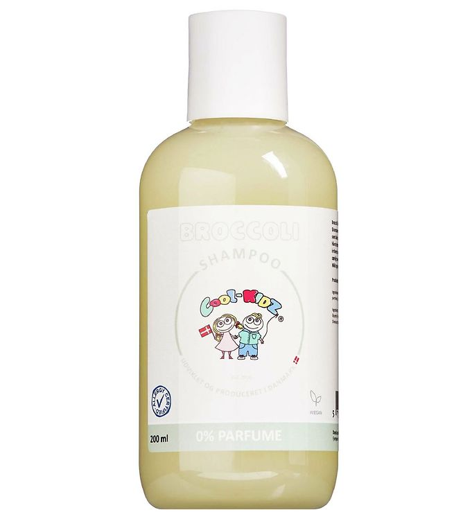 cool-kidz – Cool-kidz shampoo - 200 ml - broccoli fra kids-world