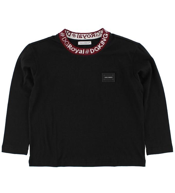 Image of Dolce & Gabbana Bluse - Sort (JX136)