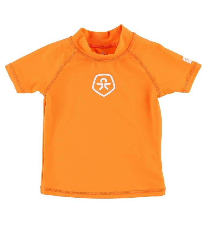 Billede af Color Kids Badebluse k/æ - Timon - Orange