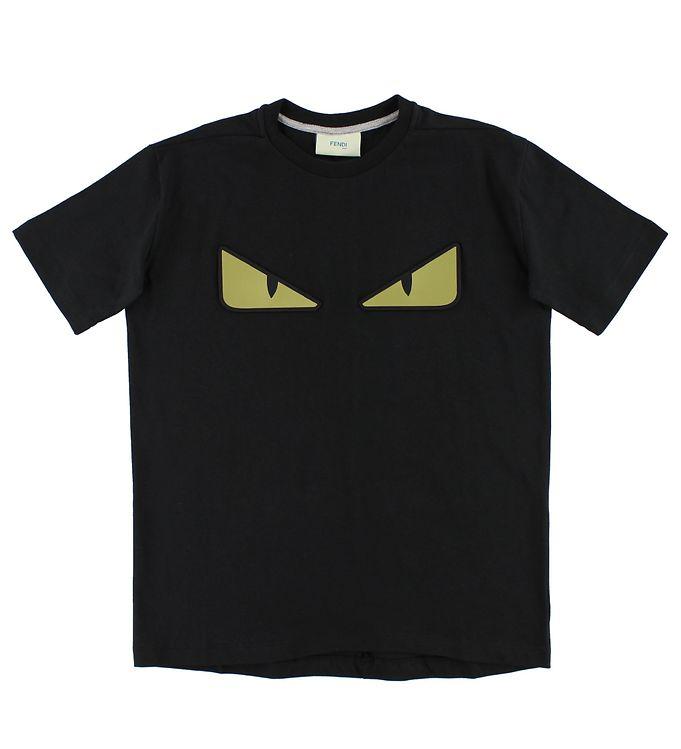 Billede af Fendi T-shirt - Sort m. Øjne