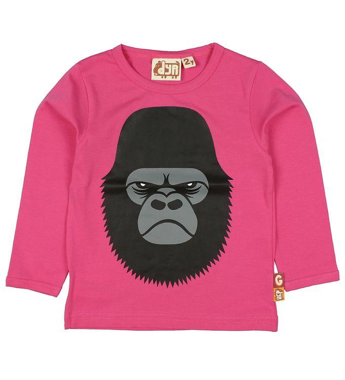 Image of DYR Bluse - Roar - Pink m. Gorilla (JX633)