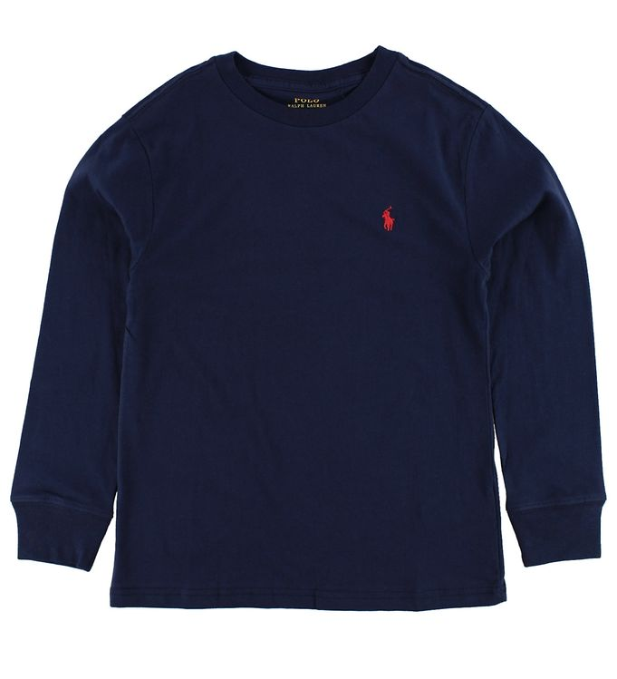 Image of   Polo Ralph Lauren Bluse - Navy