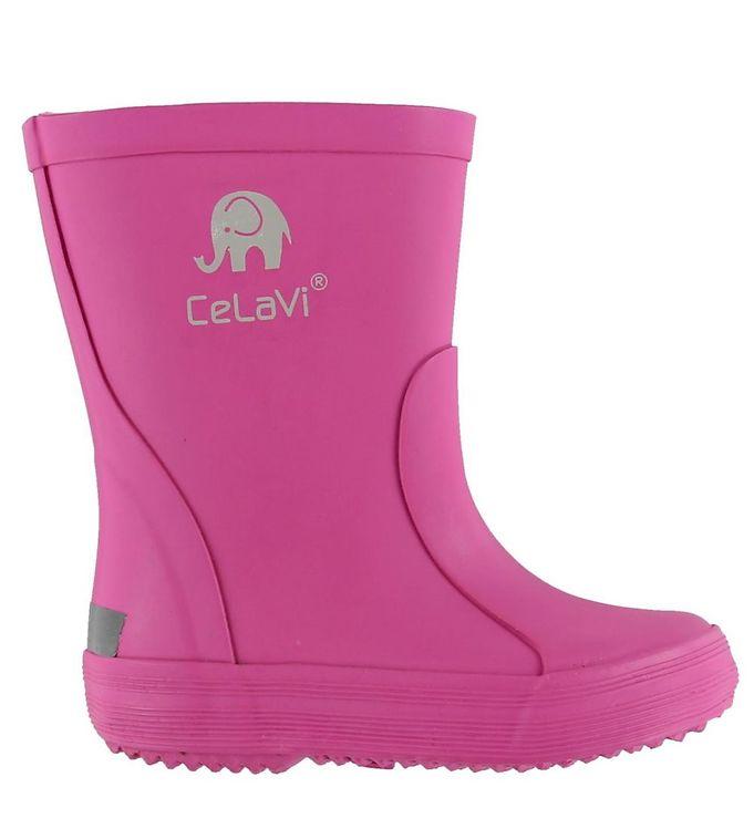 Billede af CelaVi Gummistøvler - Basic - Pink