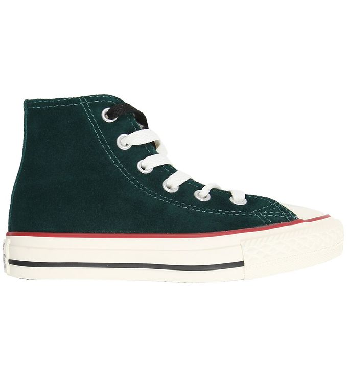 Image of Converse All Star Hi - Grøn m. Fór (K387)