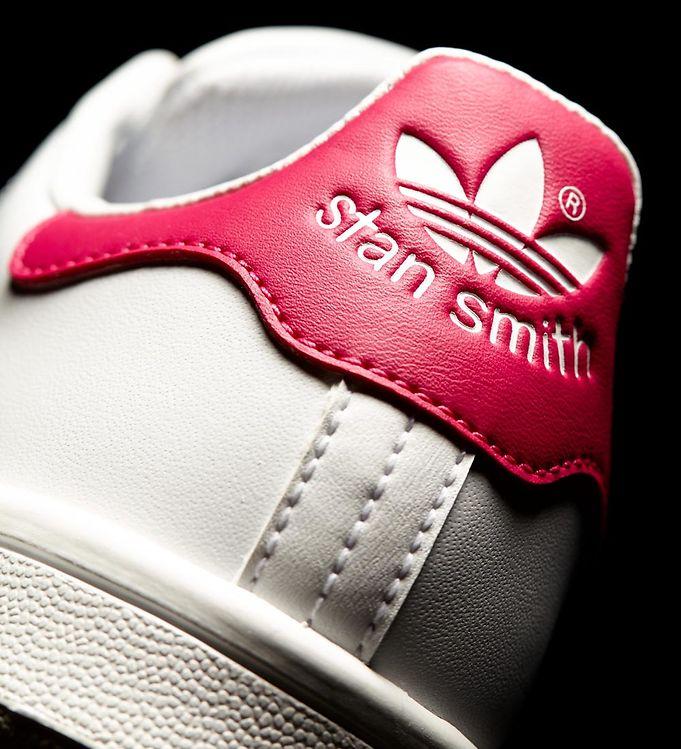 adidas Originals Sko Stan Smith HvidPink m. Snøre