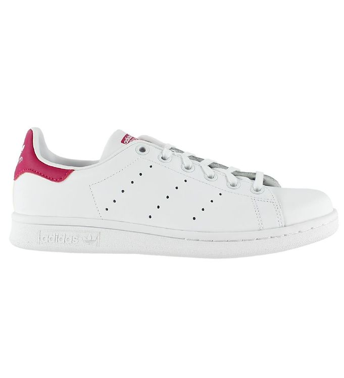 Image of adidas Originals Sko - Stan Smith - Hvid/Pink m. Snøre (KB262)