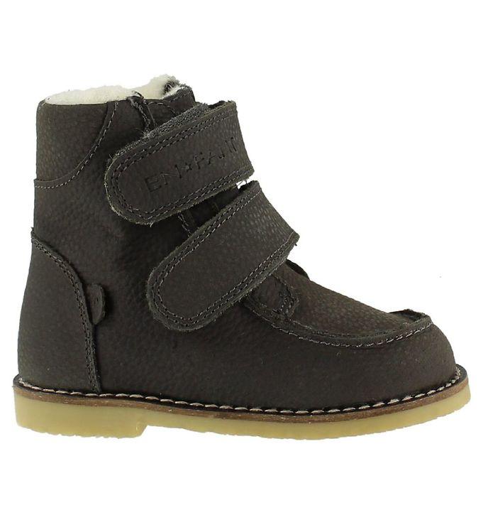 d5a2ab0d76d En Fant Vinterstøvler - Tex - Grå m. Velcro - Køb her med gratis ...