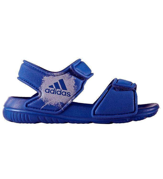 adidas performance Adidas performance badesandaler - altaswim - blå fra kids-world